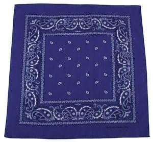 MFH Bandana, royalblau-weiß,Gr. 55 x 55 cm, Baumwolle