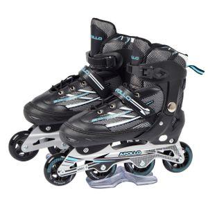"""Apollo Super Blades Pro Skate """"RX Inlineskater Schwarz/Mint"""" Größe XL (41-45)"""