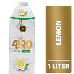 4Bro Ice Tea Lemon (1000ml Pack Eistee Zitrone)
