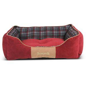 Scruffs Haustierbett Highland Rot L