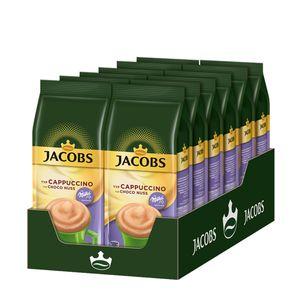 Jacobs Momente Choco Cappuccino Nuss, Mild mit Schokonote Nachfüllbeutel, 12 x 500g