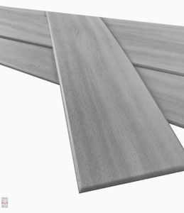 Deckenplatten Deckenpaneele Holz Deckenverkleidung Holzoptik Polystyrol Grau