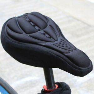 Fahrradkissen Sitzpolster Silikon-Polster Wasserdicht Kissen Fahrradsattel Fahrradsitz Universal Herren Rennrad City Radsattel Fahrrad Sattel Schwarz