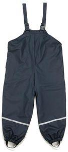 Playshoes Fleece-Trägerhose marine, Größe: 86