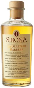 Sibona La Grappa di Barbera Piemont Italien | 40 % vol | 0,5 l