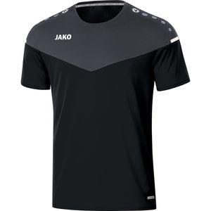 JAKO T-Shirt Champ 2.0 schwarz/anthrazit XL