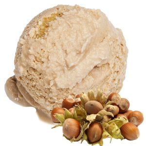 Haselnuss Geschmack Eispulver Softeispulver 1:3 - 1 kg