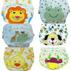 6er Pack (100) Wasserdicht Baby Trainerhose Windelhöschen Unterhose Töpfchentraining für 11-14 KG Babys