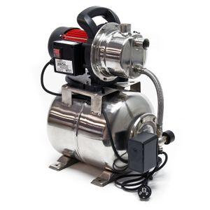 Hauswasserwerk 3800l/h 1200W 19l Membrankessel Druckschalter Gartenpumpe