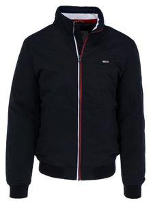 Tommy Jeans Essential Padded Jacket Wattierte Herren Winterjacke, Größe:XXL, Tommy Jeans Farben:TOMMY BLACK