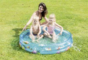 Planschbecken / Kinderpool Funny Ocean Pool Happy People Ø122cm