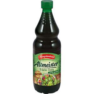 Hengstenberg Altmeister Kräuter Essig in der PET Flasche 750ml