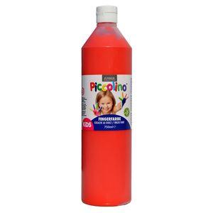 Piccolino Fingerfarbe Rot, 750 ml Flasche