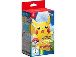 Nintendo Pokémon: Let's Go, Pikachu!, 1 Nintendo Switch-Spiel + Poketball Plus