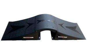Rampage skate-Rampenverbindung 60 x 8 cm PE schwarz
