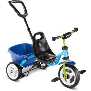 PUKY CEETY Dreirad Carry-Touring-Kipper blau/kiwi