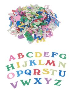 VBS Moosgummi - Buchstaben, 2 cm, 200 Stück