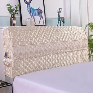 1 Stück Bettkopfteilbezug (NUR Bezug, Kopfteil ist nicht enthalten) Beige 180 cm