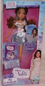 Giochi Preziosi Disney Violetta - Puppe 50 cm + Tagebuch