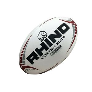 Rhino - Modell - Rugby-Ball Vortex Elite - Kunststoff, Gummi RD1455 (2) (Weiß)