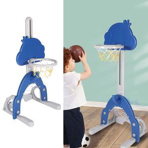 Versenkbarer Kinder-Basketball-Ständer Spielset Höhenverstellbar Kinder Indoor-Outdoor-Spiel