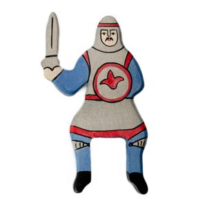 Blauer Ritter, reitend, per St