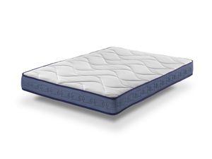  Bezen Latex Gel Plus Matratze mit Wärmeregulation 160X190 – Relax Effekt, 13 Komfortzonen  20 cm hoch  Sanitized® und ®.