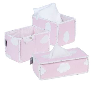 roba Pflege Organiser Set 'Kleine Wolke rosa'