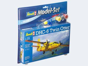 Revell Model Set DHC-6 Twin Otter, 1:72, Montagesatz, Flugzeugzelle, Mehrzweckflugzeug, DHC-6 Twin Otter, Gelb