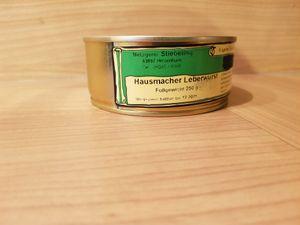 Hausmacher Leberwurst Dosenwurst
