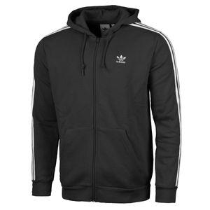 Adidas Sweatjacke schwarz L