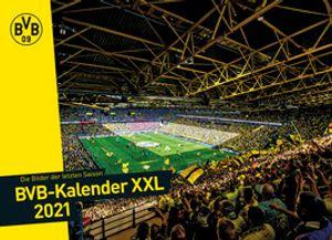 Borussia Dortmund BVB Kalender-XXL, Jahreskalender, Kalender 2021, 20340600