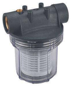 Einhell Vorfilter 12 cm, für Hauswasserwerke, Hauswasserautomaten und Gartenpumpen, 4173801