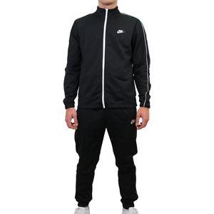 Nike Sportswear Trainingsanzug Herren Schwarz (BV3034 010) Größe: L