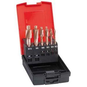 Format Flachsenker-Set Fein DIN373 M3-M10