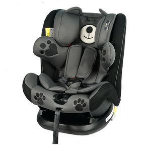 Mos Martin Kindersitz mit Isofix Black Crocodile 0 -36 kg, 135 Grad Schlafposition