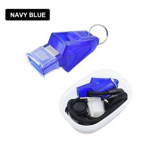 Sport Schiedsrichter Whistle Whistle Portable 130dB 4 Farben Basketball im Freien Match Game Fu?ball