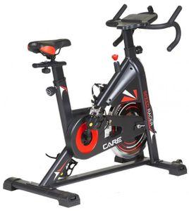 Care Fitness fahrradtrainer Speed Racer 105 x 113 cm Stahl schwarz