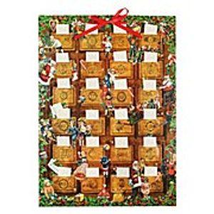 Briefchen-Adventskalender 'Oma's Schatzkommode' - Wandkalender