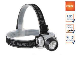 Extra helle Stirnlampe Kopflampe 7 LEDs für Wandern, Trekking, Camping, Outdoor
