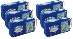 Catsan Smart Pack Katzen-Streu Katzenstreu Streu 6 Packungen mit 12 Packs 48L