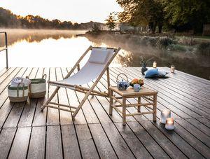 Liegestuhl 'Relax' Möbel Terrasse Garten Wintergarten Balkon Wohnzimmer