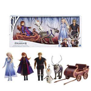 Hasbro: Frozen 2, Abenteuerliche Schlittenfahrt, Puppenschlitten E5517EU4