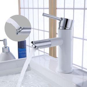 Wasserhahn Bad 360° drehbar Auslauf Badarmatur Waschtischarmatur für Bad Wasserhahn Einhebelmischer Waschbecken Mischbatterie Bad