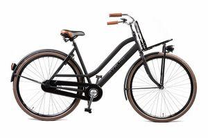 Avalon Transportfahrräder Damen Transporter 28 Zoll 55 cm Frau Rücktrittbremse Schwarz