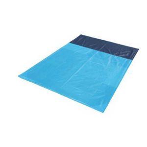 Wasserdichte Tragbare Anti Sand Picknickdecke Strandmatte Größe 1,4 x 2 m Himmelblau