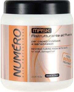 Brelil Numero Restructuring Mask With Oats 1000 ml