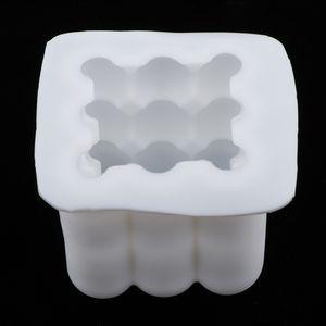 3D Zauberwürfel Silikon Kerzenformen Romantique Kerzenform Handwerk Formen DIY