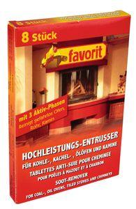 Favorit Hochleistungs-Entrußer Entrusser 8 Stück für Kohle-, Kachel-,  Ölöfen und Kamine