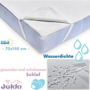 JUKKI® Matratzenschoner ⭐ Wasserdichte ⭐ 70x140 ⭐ Matratzenauflage Matratzenschutz für Babybett und Kinderbett